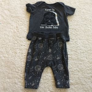 Star Wars Boys 3-6M Boys Putfit